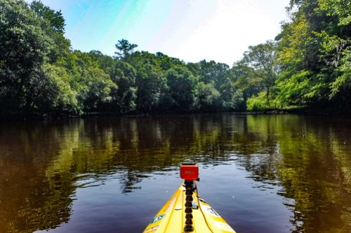 Edisto River Beer Commercial and Rope Swing Float-058
