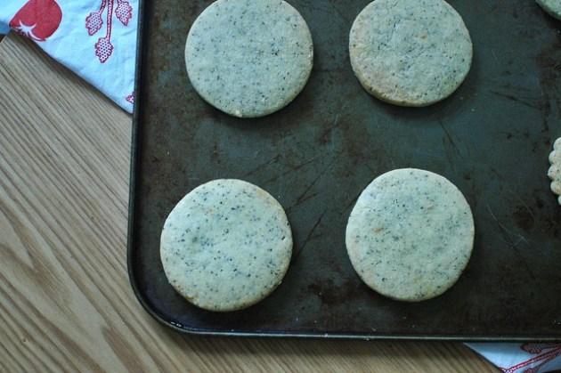 Earl Grey, Lemon & Poppy Seed Shortbread