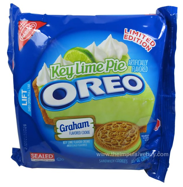 Limited Edition Key Lime Pie Oreo Cookies