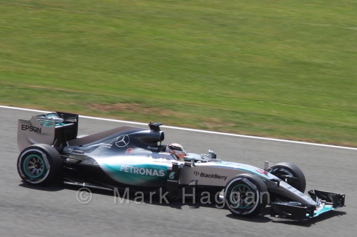 Qualifying for the 2015 British Grand Prix