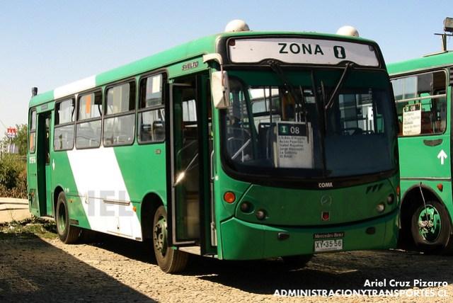 Transantiago - Comercial Nueva Milenio / Buses Vule - Comil Svelto / Mercedes Benz (XY3556)