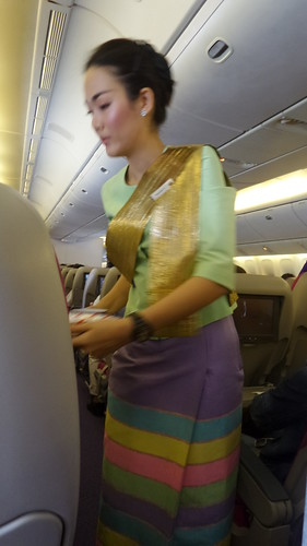 Thai Airways & Bangkok Airport