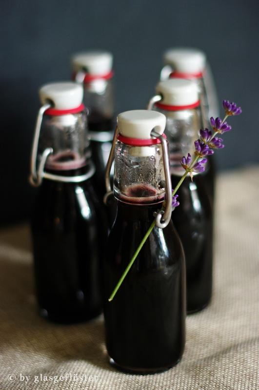 Blaubeer Lavendel Sirup by Glasgeflüster 4 klein