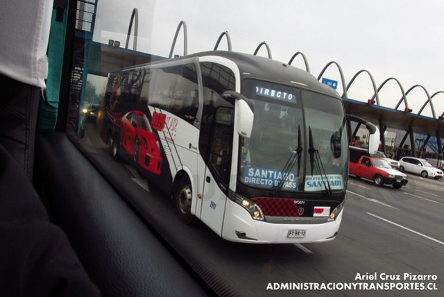 Moraga Tour Internacional - Angostura - Neobus New Road N10 / Scania (FYBX12)