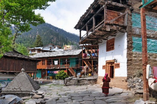 Image result for Old Manali, Himachal Pradesh