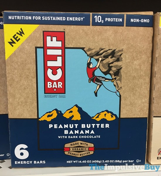 Peanut Butter Banana Clif Bar