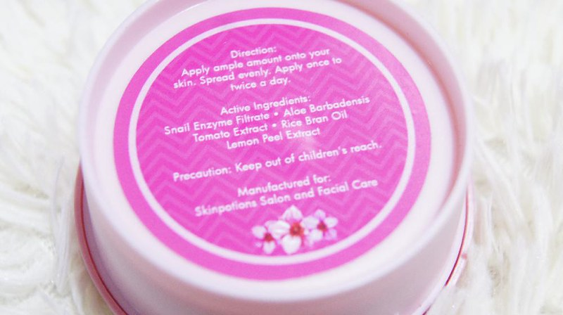 Skin Potions Snow Berry Sleeping Cream Mask Review 2