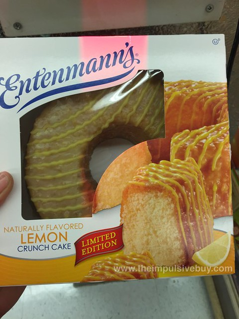 Entenmann's Limited Edition Lemon Crunch Cake