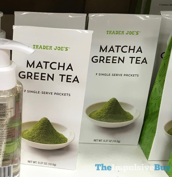 Trader Joe's Matcha Green Tea Single-Serve Packets