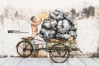 Ipoh Wall Art Murals by Ernest Zacharevic @ Ipoh Old Town ...