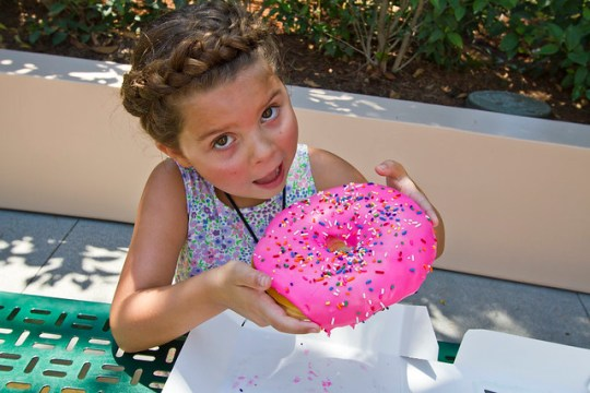 with a Lard Lad Donut