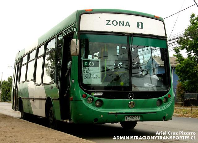 Transantiago - Comercial Nueva Milenio / Buses Vule - Metalpar Tronador / Mercedes Benz (YE9706)