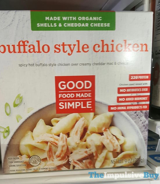 Good Food Made Simple Buffalo Style Chicken