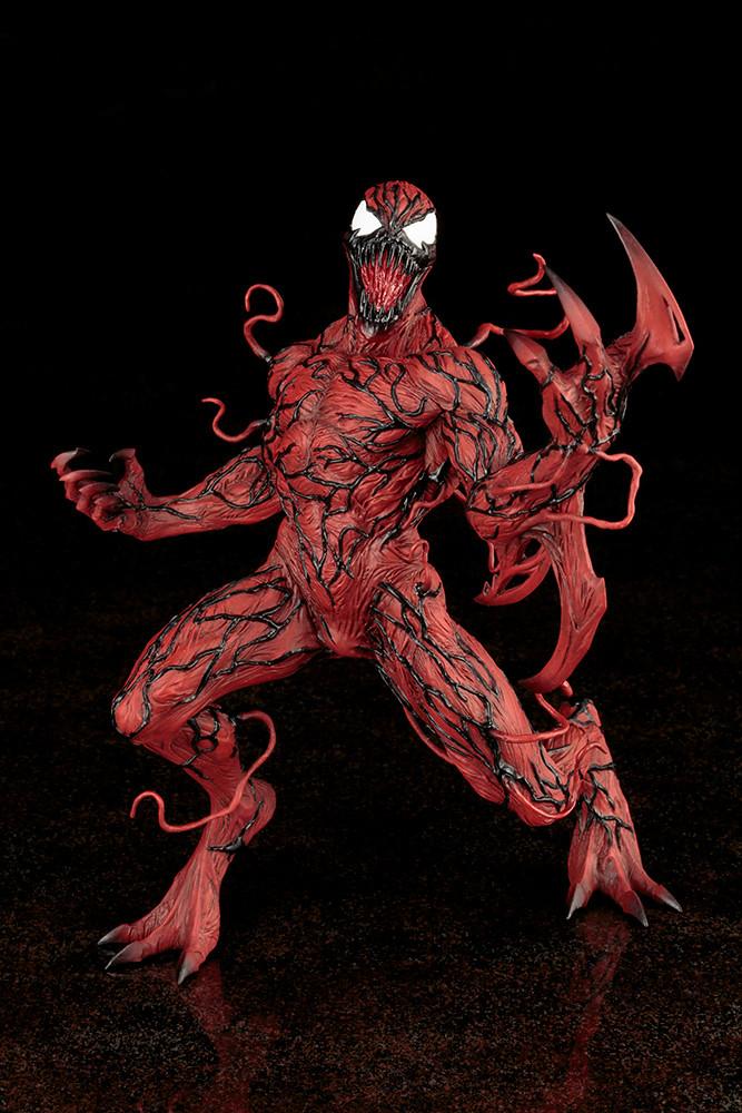 血蜘蛛:蜘蛛人與猛毒聯手對抗的強大反派!MARVEL ARTFX カーネイジ(屠殺) | 玩具人Toy People News