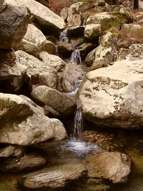 Ikarian Mountain stream