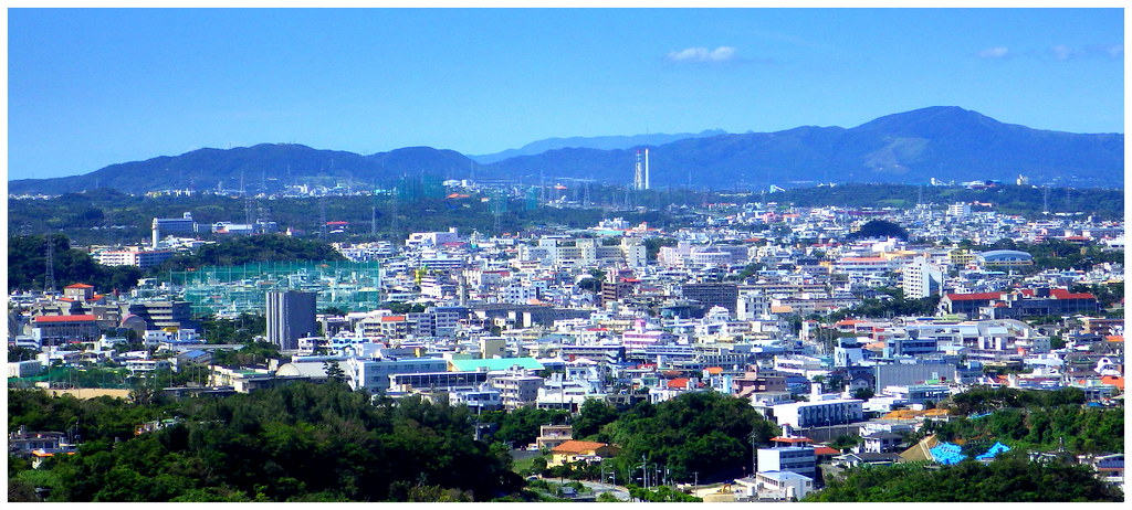 Square 3d Wallpaper Mt Ishikawa And Mt Onna Rise In The Distance Beyond The