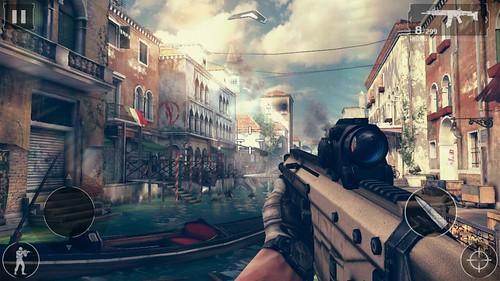เล่นเกม Modern Combat 5: Blackout บน Lenovo A7000