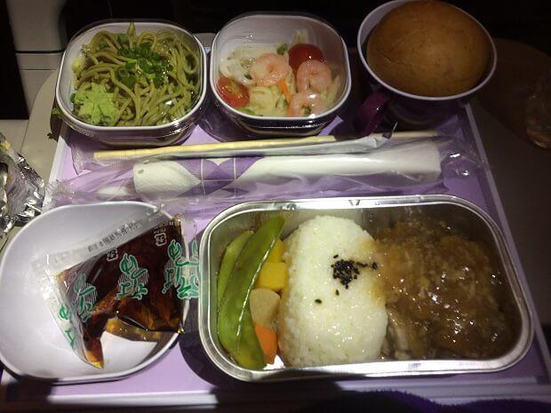 161213 タイ国際航空B787機内食