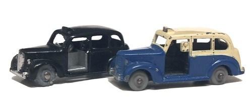 12b Dinky Dublo & Morestone Austin Taxi (1)