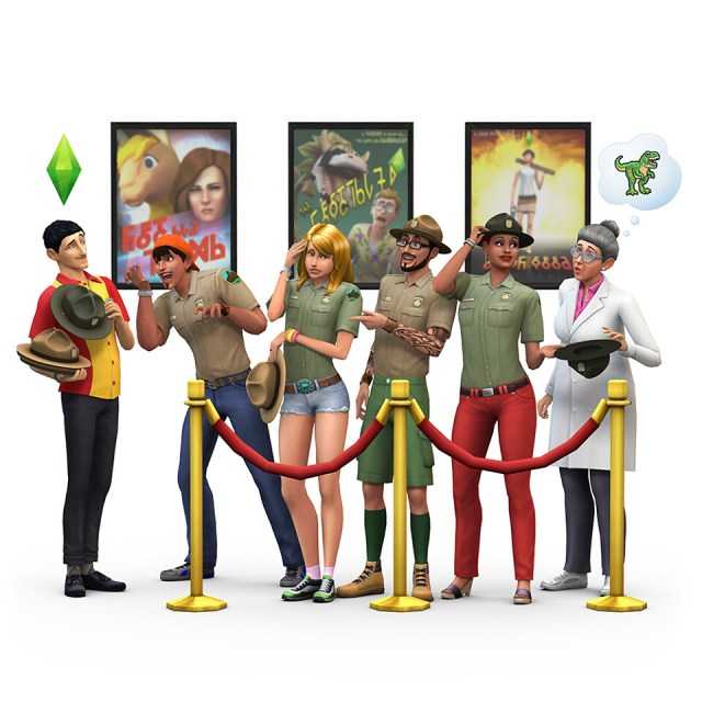 Les Sims 4 Jurassic World