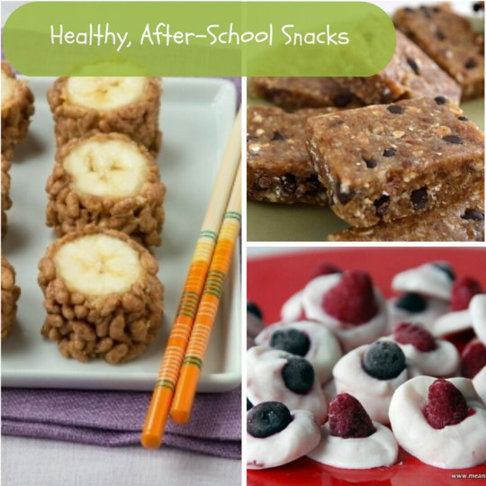 Healthy, After-School Snacks