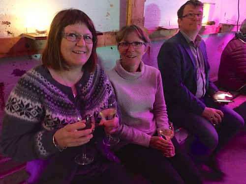 Hanne, Wenche og Knut Einar er fornøyde