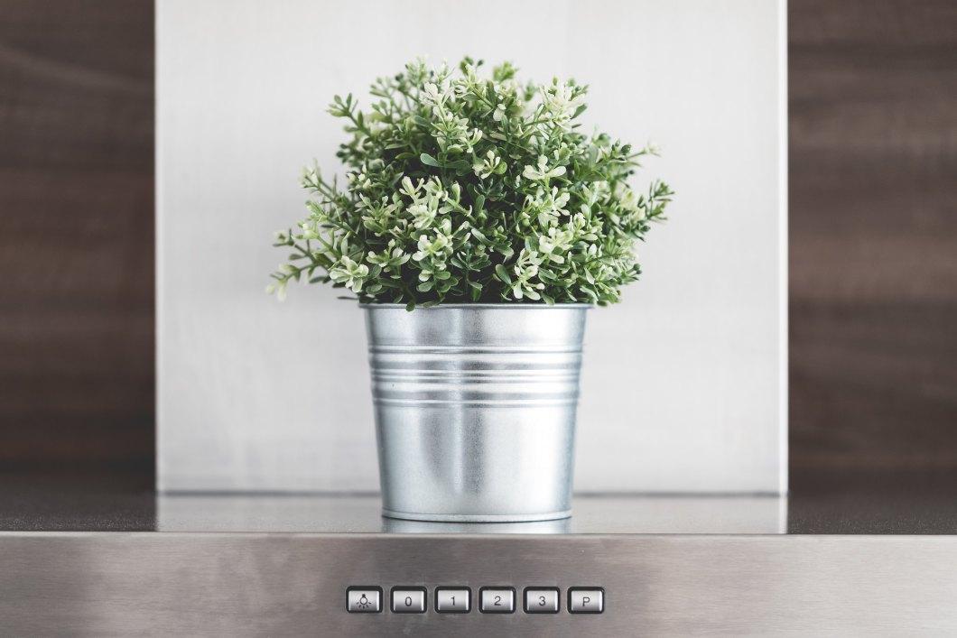 Imagen gratis de un cubo metálico decorativo