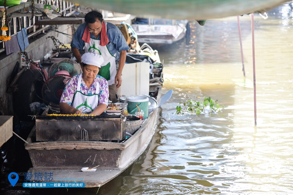 《曼谷景点推荐》大林江水上市场:曼谷市传统泰式风情体验
