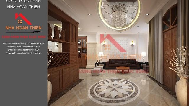 Bản vẽ 3D nội thất căn L2.8 dự án CityLand Garden Hills - Gò Vấp