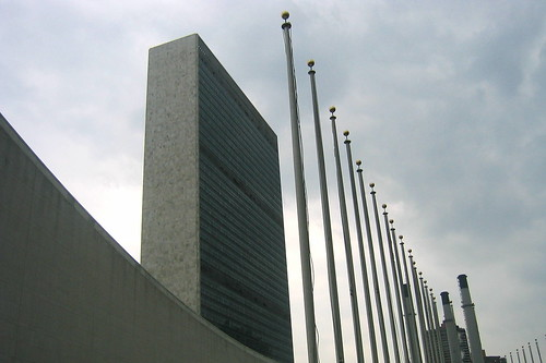 NYC: United Nations Headquarters by wallyg