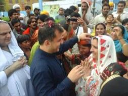 Welcome Sain Sadhram Sahib at Pooj Raherki Sahib (8)