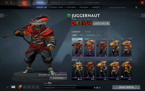 Juggernaut Balance of the Bladekeeper