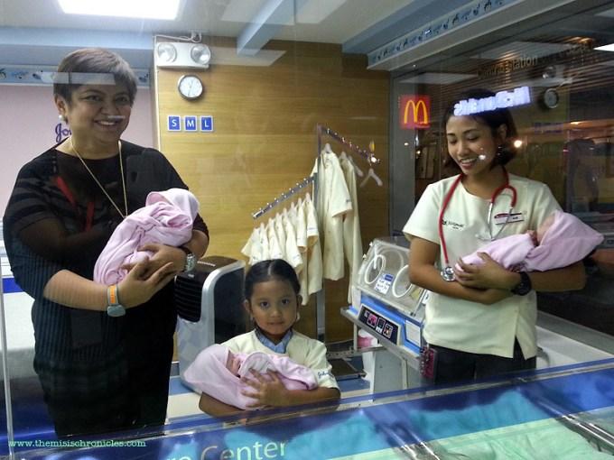 kidzania manila Baby Care Center