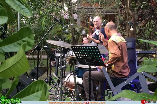 Ubud Village Jazz Festival2015 - Sylvain Gagnon (1)