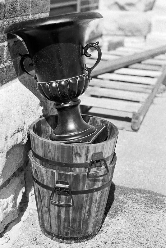 Urn in a Basket
