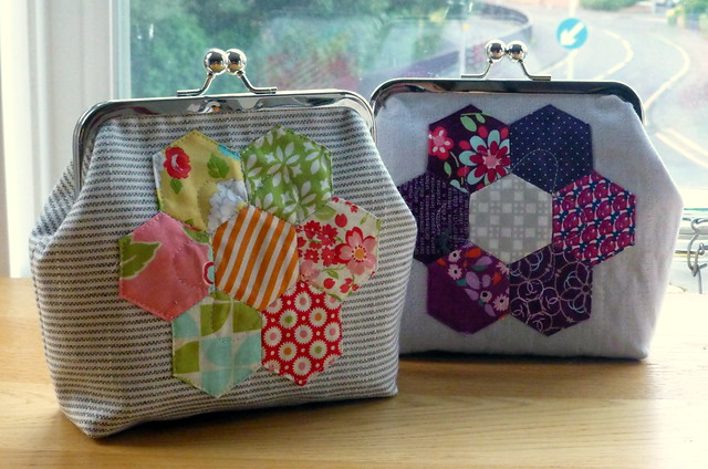 Hexie Framed Purses
