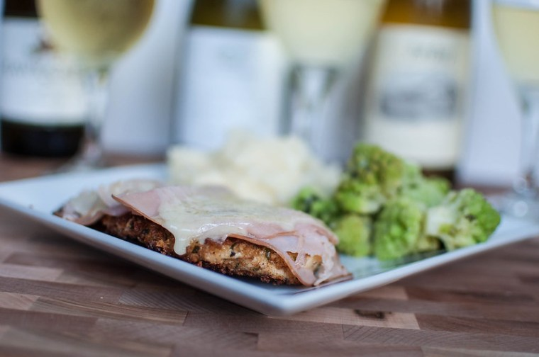 Simple Chicken Cordon Bleu + Wine Pairings