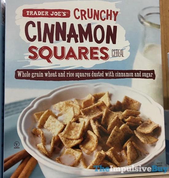 Trader Joe's Crunchy Cinnamon Squares Cereal