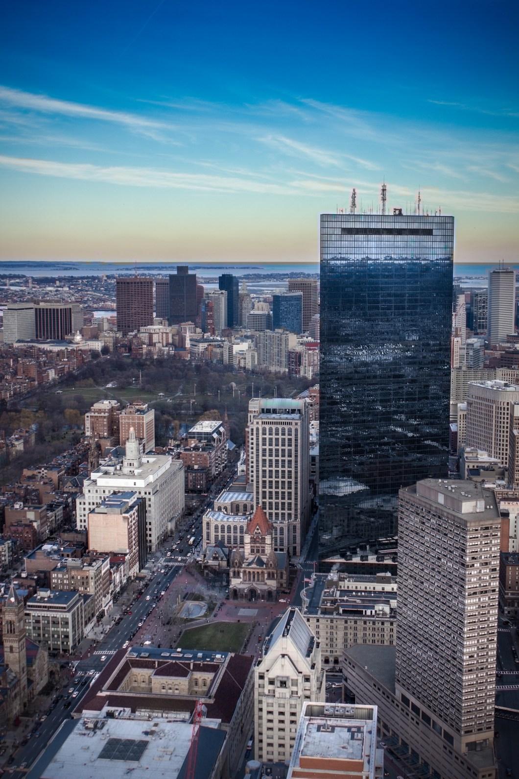 Imagen gratis de una ciudad desde las alturas