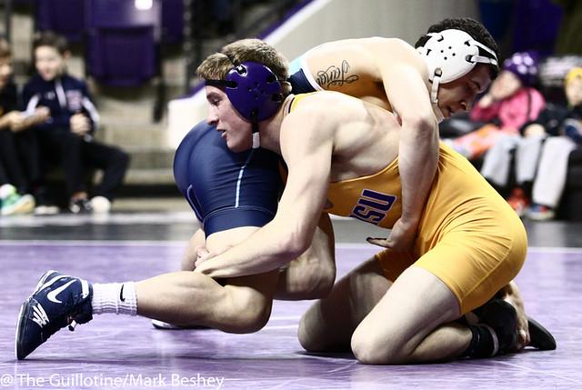149 Damian Penichet (Upper Iowa) dec. Daniel Close 5-1