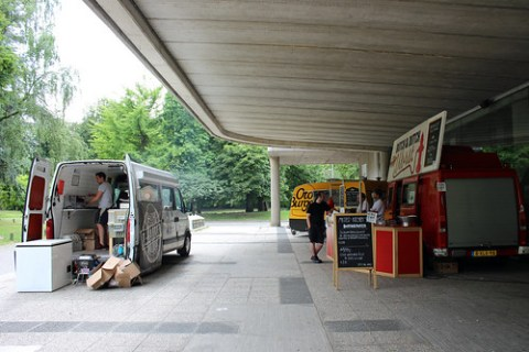 food truck lane…