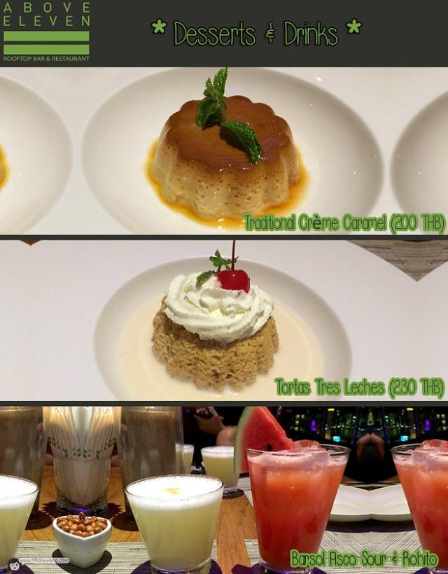 Fraser Suites Sukhumvit Above Eleven Desserts