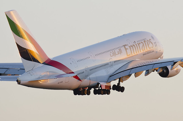 Emirates Airbus A380 by Martin Krizka Aviation Shots on Flickr