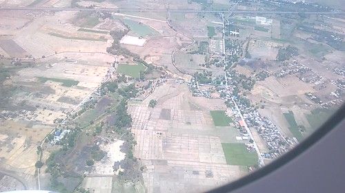 Llegando al aeropuerto internacional de Clark, al norte de Manila