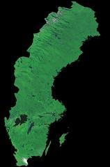 Sweden by Proba-V