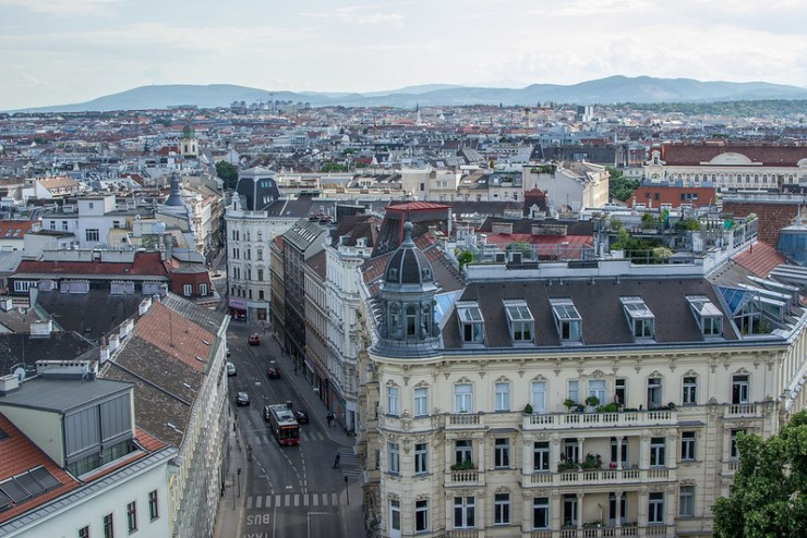 Haus des Meeres View of Vienna