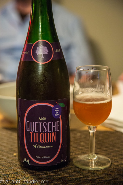 Oude Quetsche Tilquin à l'Ancienne avec Prunes de Namur