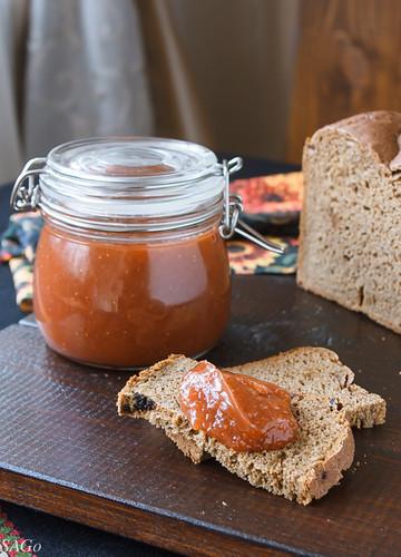 рецепт джема, заготовки, джем из ревеня и клубники, джем с пектином, быстро и просто