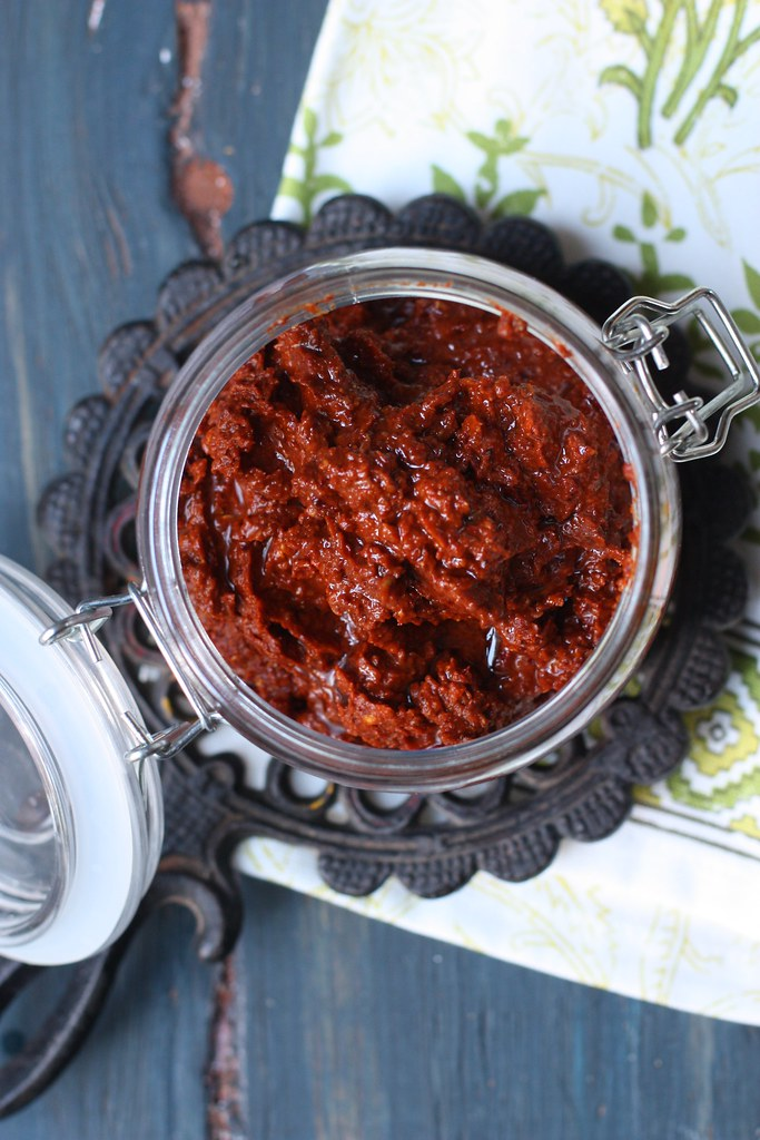 Harissa- Spicy Chili Pepper Paste