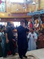 Welcome Sain Sadhram Sahib at Pooj Raherki Sahib (16)